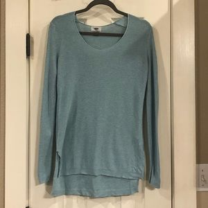 Old Navy light teal sweater, size small